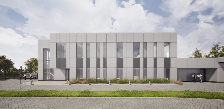 projektowany budynek Tauron w Tarnowie
