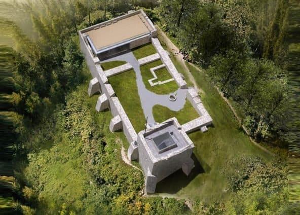Zamek w Muszynie projekt odbudowy